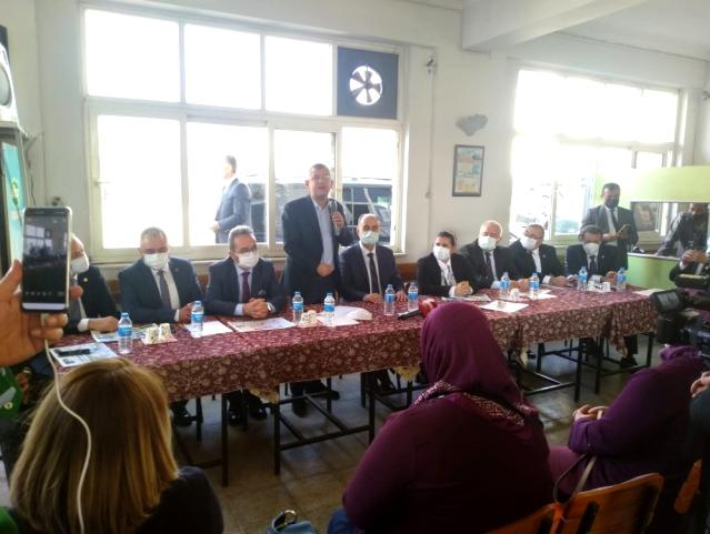 Başkan Çerçioğlu'ndan Aydınlı şoförlere destek sözü