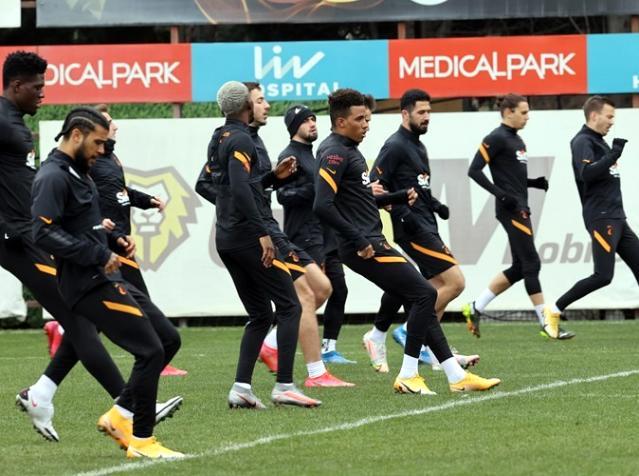 Galatasaray, BB Erzurumspor maçı hazırlıklarını tamamladı